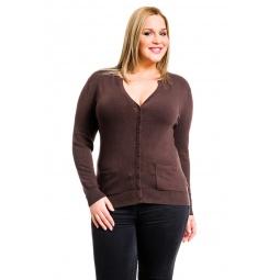 фото Жакет Mondigo XL 9786. Цвет: коричневый. Размер одежды: 50