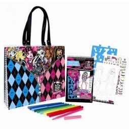 Купить Набор с портфолио в сумке Fashion Angels «Школа монстров» 64012