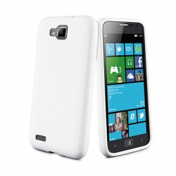 фото Чехол Muvit Minigel для Samsung Ativ S3 Mini. Цвет: белый