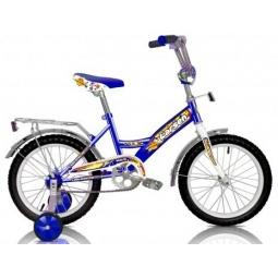 фото Велосипед Larsen Kids 16. Цвет: синий