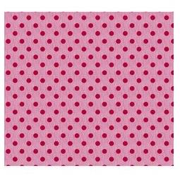 фото Отрез ткани Tilda Крупный горошек. Цвет: розовый