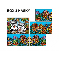 Купить Коробка-раскраска Color Velvet «Собаки»