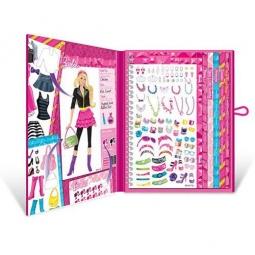 Купить Набор с наклейками Fashion Angels «Барби-стилист»