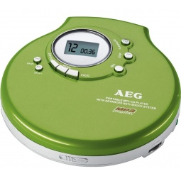 фото MP3-плеер AEG CDP-4212. Цвет: зеленый