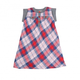 фото Платье Fore N Birdie Double Plaid. Рост: 116-122 см