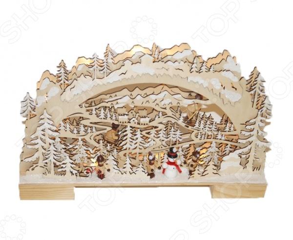Декорация рождественская Star Trading «Снежный лес»