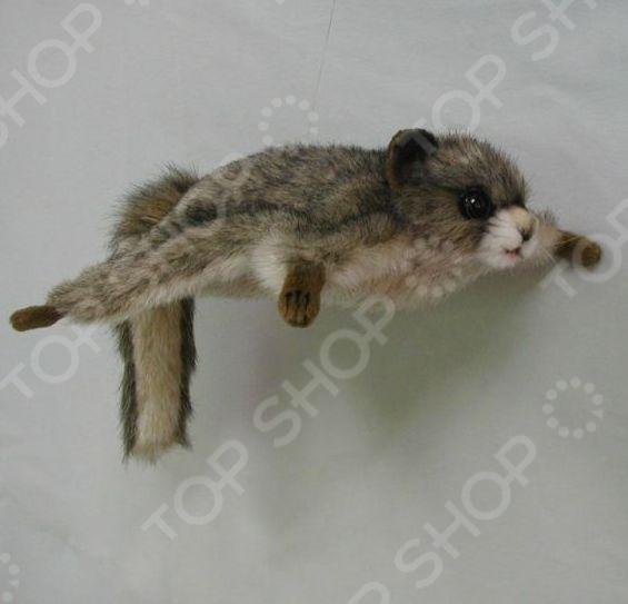 Мягкая игрушка Hansa «Белка летяга» мягкая игрушка белка hansa белка летяга искусственный мех серый 21 см 4116