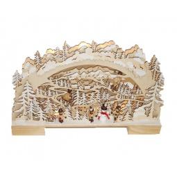 фото Декорация рождественская Star Trading «Снежный лес»