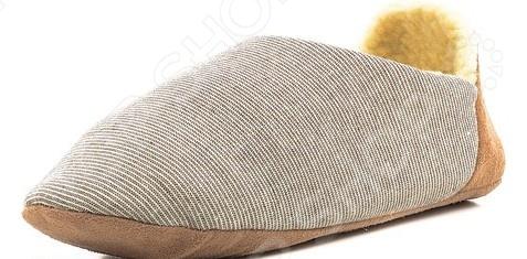 Тапочки домашние Burlesco H139. Цвет: коричневый
