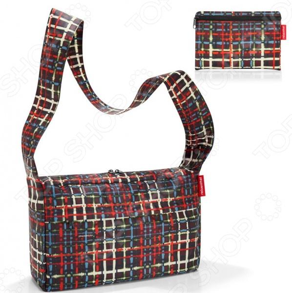 Сумка складная Reisenthel Mini Maxi Citybag WoolСумки для покупок<br>Сумка складная Reisenthel Mini Maxi Citybag Wool это удобная сумка, которая подходит для любых предметов. Откажитесь от пакетов из пластика, ведь вы можете ходить в магазин с такой симпатичной и стильной сумкой! Она складывается в компактный чехол и занимает совсем мало места, но в развернутом виде выдерживает по 9 литров. Можно использовать ее для походов в магазин, на работу или учебу, на пикник и для любого повседневного использования. Просторная сумка имеет длинные ручки, что позволяет носить ее как на плече, так и в руке. Сумка легко стирается с холодной воде.<br>