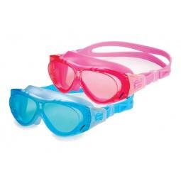фото Очки для плавания Larsen DK6. Цвет: голубой