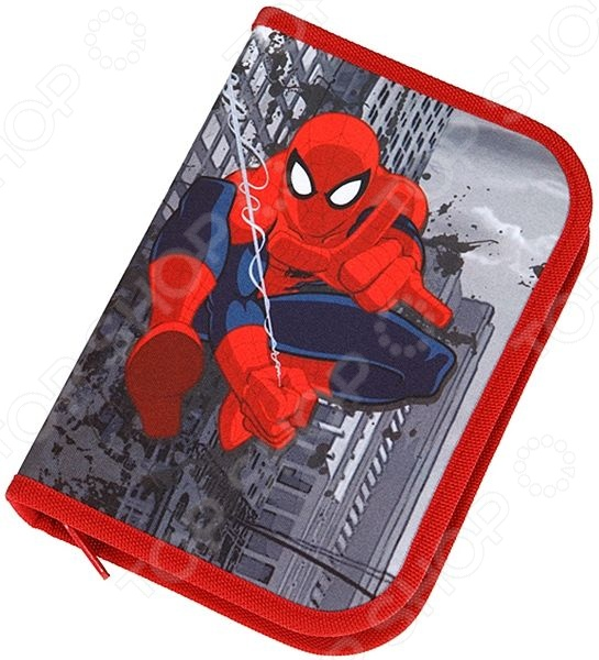 Пенал с наполнением Scooli Spider Man SP13044
