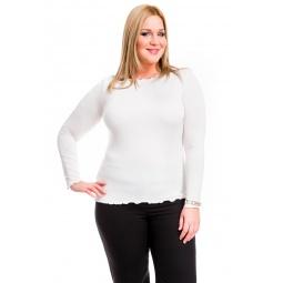 фото Кофта Mondigo XL 1470. Цвет: молочный. Размер одежды: 48