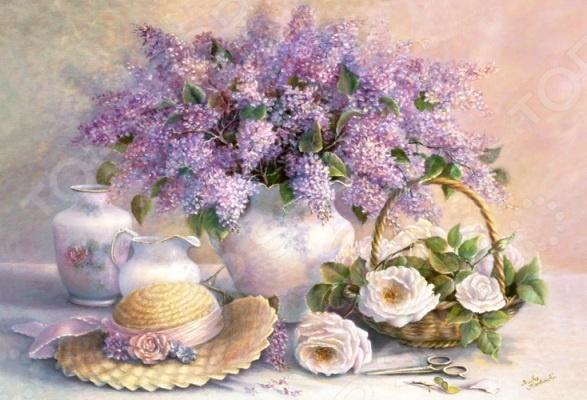Пазл 1000 элементов Castorland «Цветы»