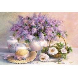 Купить Пазл 1000 элементов Castorland «Цветы»