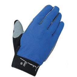 фото Велоперчатки с длинными пальцами Polednik Long. Цвет: голубой. Размер: 10 L