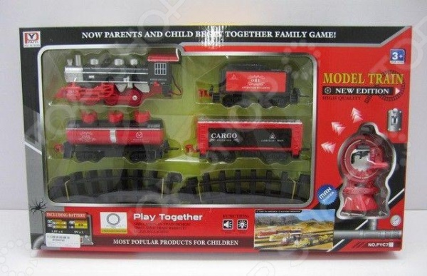 Набор железной дороги игрушечный Btoys на пульте управления 1707186 Набор железной дороги игрушечный Btoys на пульте управления 1707186 /