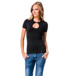 фото Футболка Mondigo 6055. Цвет: черный. Размер одежды: 46