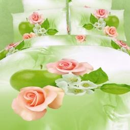 фото Комплект постельного белья Domomania Probugdenie. Satin Fotoprint. Евро