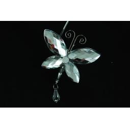 фото Новогоднее украшение Crystal Deco «Бабочка» 1707683