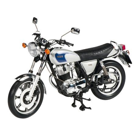 Купить Сборная модель мотоцикла 1:10 Schuco Yamaha SR 500