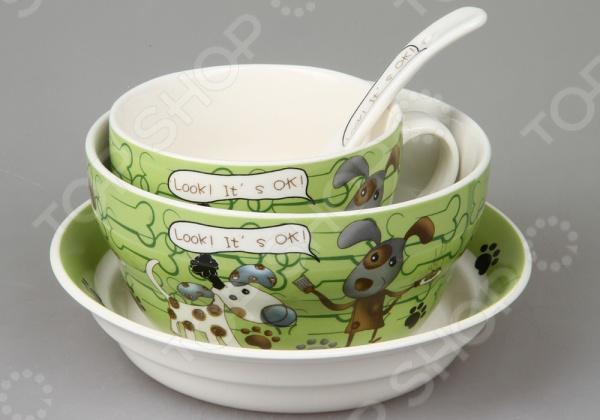 Набор посуды для детей Rosenberg 87965