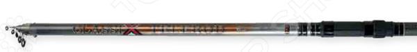 Удилище телескопическое с керамическими колец Atemi Classix Telerod