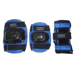 фото Комплект защиты для роликовых коньков X-MATCH PW-308. Размер: S