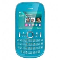 фото Мобильный телефон Nokia 200 Asha. Цвет: голубой