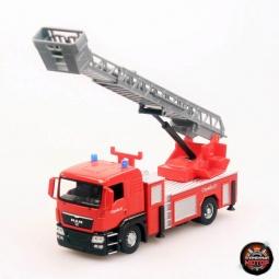 фото Машинка коллекционная Пламенный Мотор «Пожарная» MAN