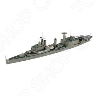 Сборная модель крейсера Revell Тайгер - набор сборной модели крейсера типа Тайгер, королевские ВМС Великобритании. Модель состоит из множества мелких деталей, которые скрепляются с помощью клея. Клей необходимо приобрести отдельно. С таким набором можно будет воспроизвести реалистичную модель военного корабля в уменьшенном формате. При сборке модели отлично тренируется память, ассоциативность и логическое мышление. Идеальный подарок для любителей головоломок.