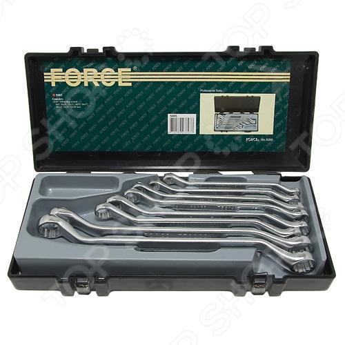 Набор ключей накидных Force F-5085 ключ накидной 12 гранный прямой силовой force f 793