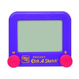 Купить Экран для рисования Etch-a-sketch Pocket. В ассортименте