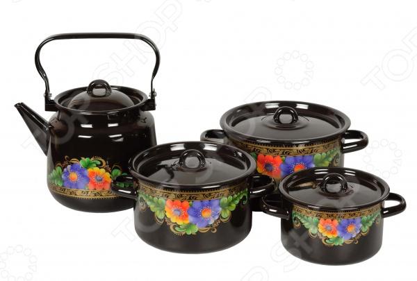 Набор посуды «Вологда»: 8 предметов