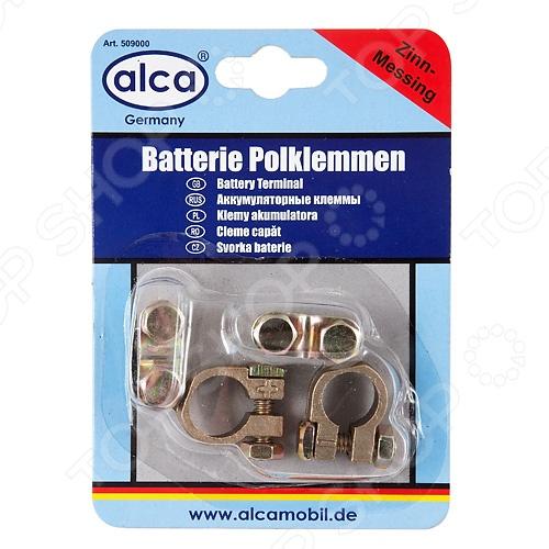 Клеммы аккумуляторные ALCA AL-50900 чайник автомобильный alca al 54212