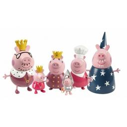 фото Набор подвижных фигурок Intertoy «Королевская семья Пеппы»