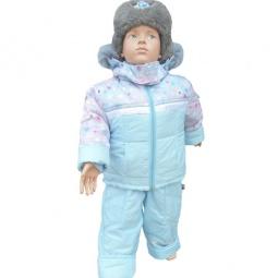 Купить Комплект для мальчиков: куртка, жилет и полукомбинезон Даримир Winter. Цвет: аквамарин