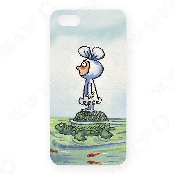 Чехол для iPhone 5 Mitya Veselkov «Малыш на черепашке» бордюр atlas concorde russia royale london bordeaux 5x20