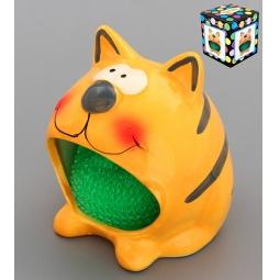 Купить Подставка для губки Elan Gallery «Кот» 380039