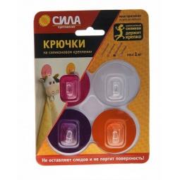 Купить Набор крючков на силиконовом креплении Сила SH5-R4GMIX-24