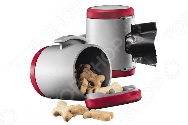 Коробочка универсальная для корма Flexi VARIO New Classic прекрасно подойдет для любого типа кормов. Она сохранит свежесть пищи, не даст ей впитать посторонние запахи, отсыреть или высохнуть. Коробочка герметично закрывается, не позволяя корму рассыпаться. Она выполнена из экологически чистого материала, не выделяющего посторонних запахов и не впитывающего их. Коробочка имеет удобную ручку, проста в использовании. Благодаря компактности, такой небольшой контейнер легко брать с собой в поездку или путешествие, если вы решили взять питомца.