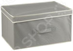 Короб с крышкой White Fox WHHH10-344 Standart короб архивный esselte standart 128910 картон с крышкой