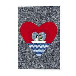 фото Обложка для паспорта Mitya Veselkov «Лодка любви»
