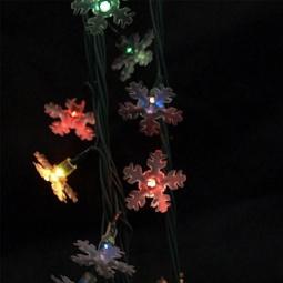 фото Гирлянда электрическая Новогодняя сказка «Снежинки» NS97753