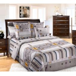 фото Комплект постельного белья Белиссимо «Параллель». 2-спальный. Размер простыни: 220х195 см
