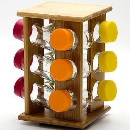 Купить Набор для специй на подставке Mayer&Boch MB-23258 «Бамбук»