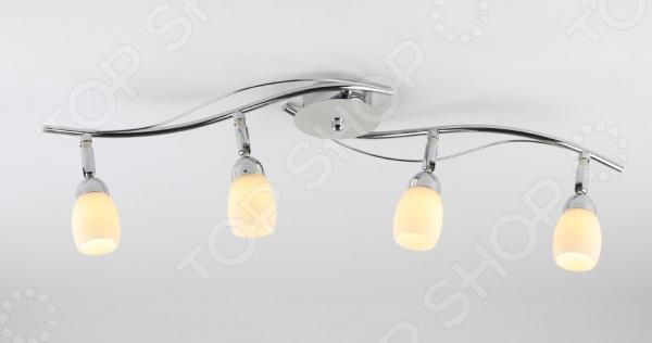 Светильник потолочный Rivoli Capri-C-line-4 это светильник, способный служить как дополнительным, так и основным источником света в небольшой комнате . Потолочный светильник подходит для комнаты с низким потолком, поскольку занимает совсем немного места. Дизайн светильника это важный акцент интерьера. Вместе с бра или подсветкой он создает интересный световой ансамбль, преображающий комнату.