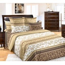 фото Комплект постельного белья Белиссимо «Водевиль». 2-спальный. Цвет: бежевый. Размер простыни: 220х240 см
