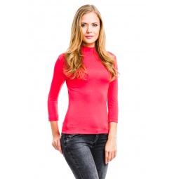 фото Водолазка Mondigo 7010. Цвет: ярко-розовый. Размер одежды: 46