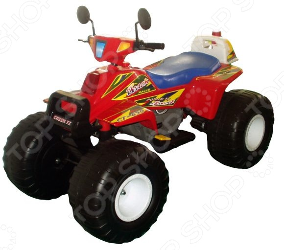 детский электрический Пламенный Мотор «Биг Рейсер»